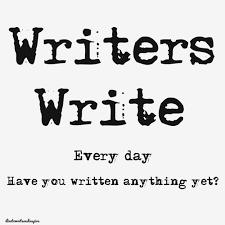 writers write 1